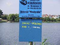 Zalew na rzece Mroga Mro�yczka - Pi�a