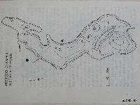 Mapa batymeryczna - jezioro CHOJNO