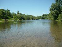 Rzeka Skawa malowniczy odcinek