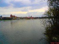 Rzeka Wis³a Toruñ