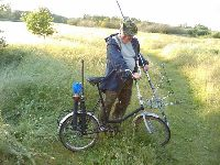 Wypasiony rower w�dkarza