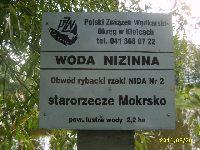 Zbiornik Starorzecze Mokrsko Dolne