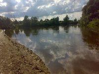 Rzeka Bug w miejscowosci Sobib�r