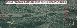 UWAGA - Zakaz Po�owu Suma do dnia 17.10.2014 na Wi�le nr 4