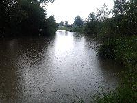 Zalew w Iskrzynii na rzece Wis³ok