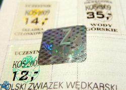 Znaki PZW na 2015 rok dostêpne u Skarbnika Ko³a !!!