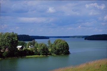 Jezioro Wdzydze - Ko�cierski Pomorskie |  forum, pogoda - wedkuje.pl