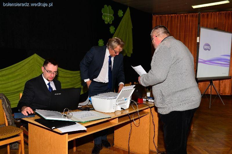Zebranie Sprawozdawczo-Wyborcze Ko³a PZW Boleñ - 12.02.2017